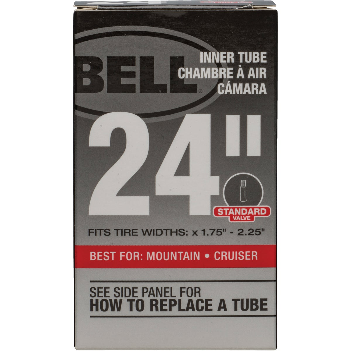 "24"" UNIVERSAL INNER TUBE - 7015358 by Bell Sports"