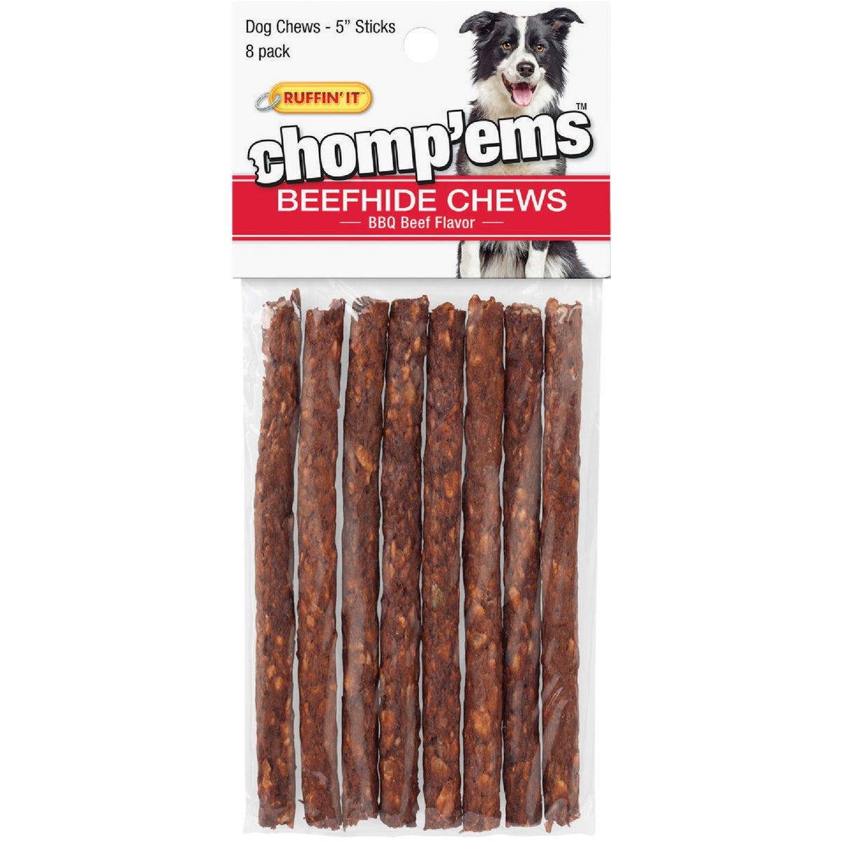 "8PK 5"" BEEF ROLL - 37158 by Westminster Pet"