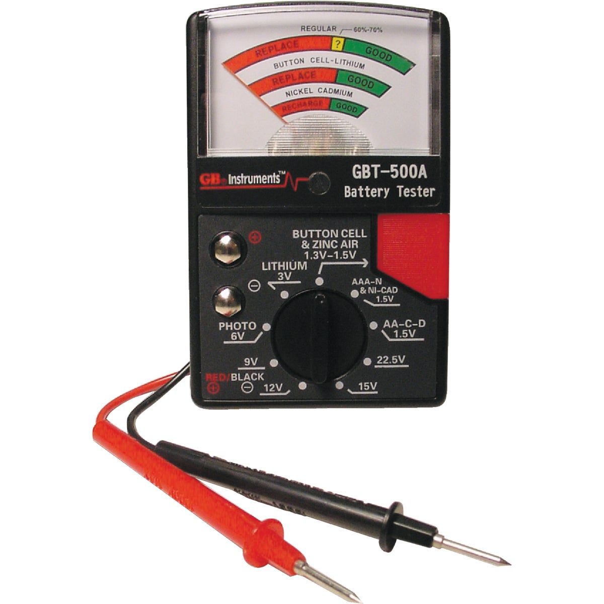 BATTERY TESTER - GBT-500A by G B Electrical Inc