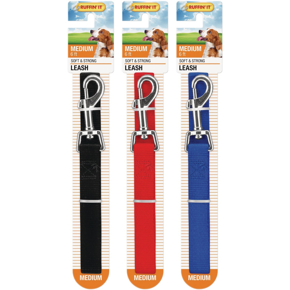"3/4""X6' NYLON LEASH"