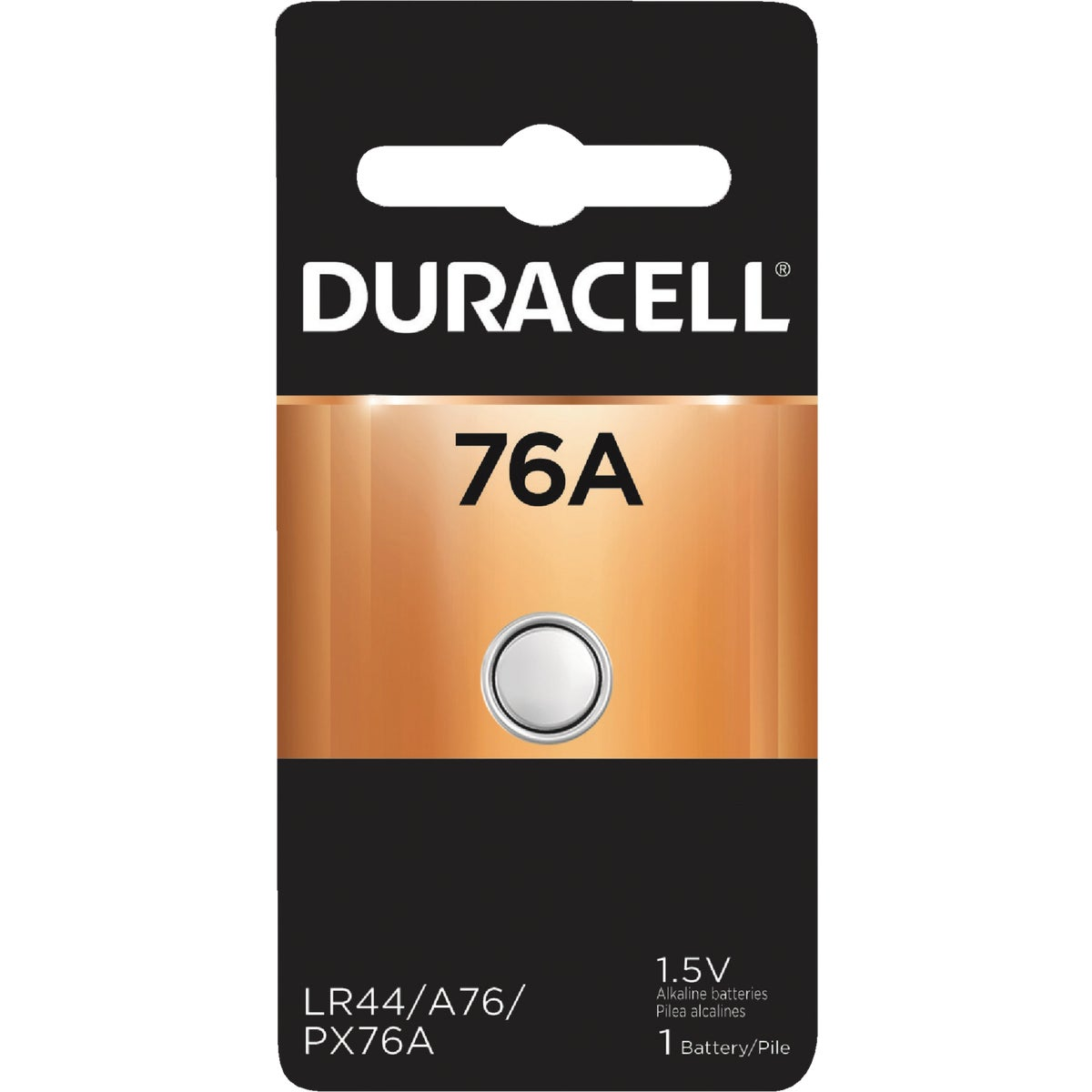 PX76A/675A 1.5V BATTERY - 44887 by P & G  Duracell