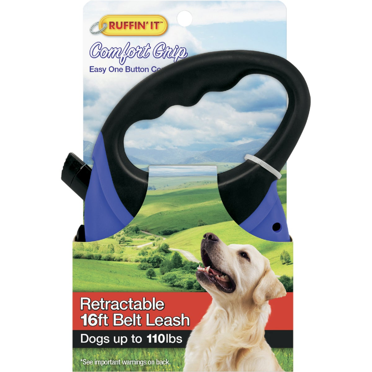 13' WEBBED RETRACT LEASH - 98627 by Westminster Pet