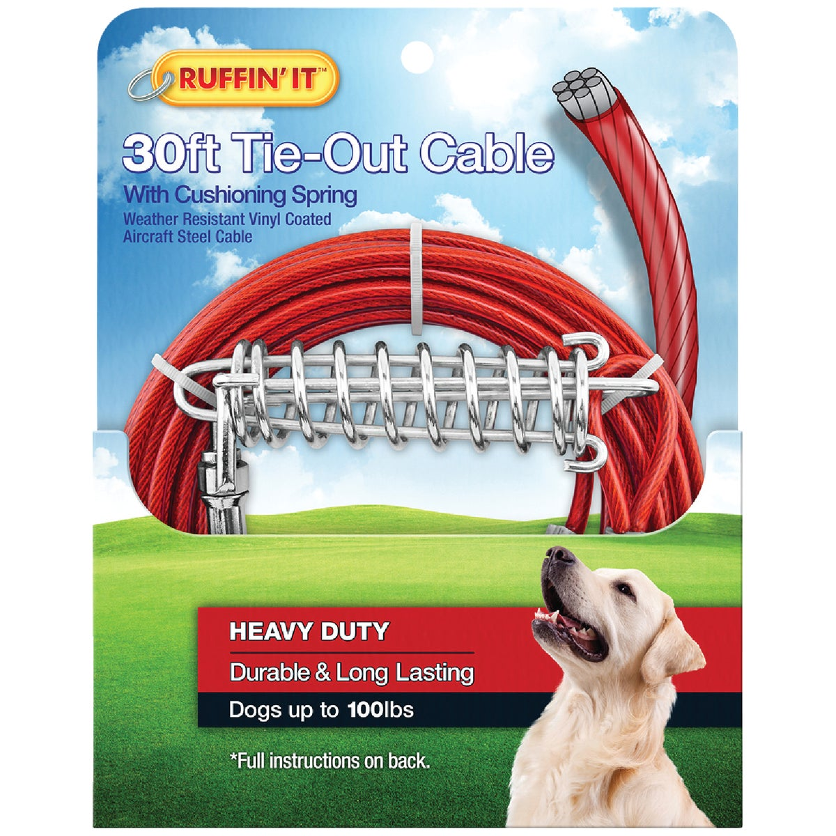 1700# 30' TIEOUT CABLE - 29230 by Westminster Pet