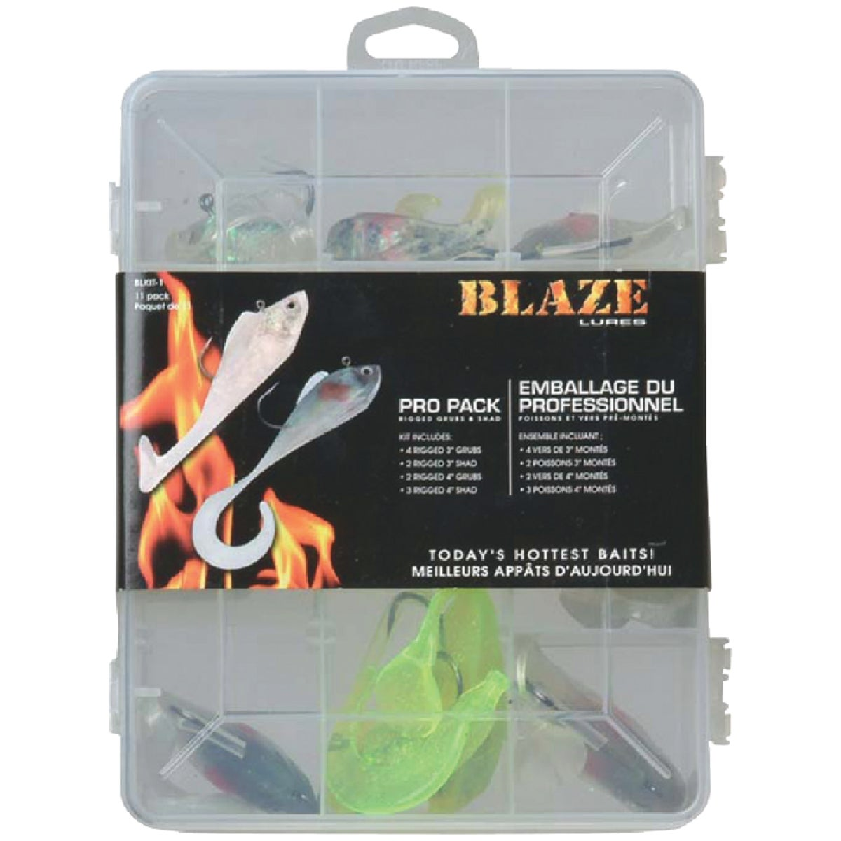 ASST LURE BLAZE KIT - BLK1T-1 by South Bend Sptg Good