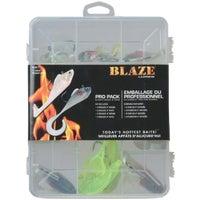 South Bend Sporting Goods ASST LURE BLAZE KIT BLK1T-1