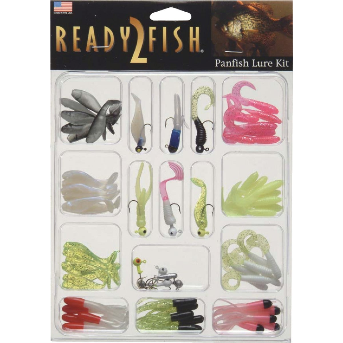 R2F PANFISH LURE KIT - R2FK2-PNFISH by South Bend Sptg Good