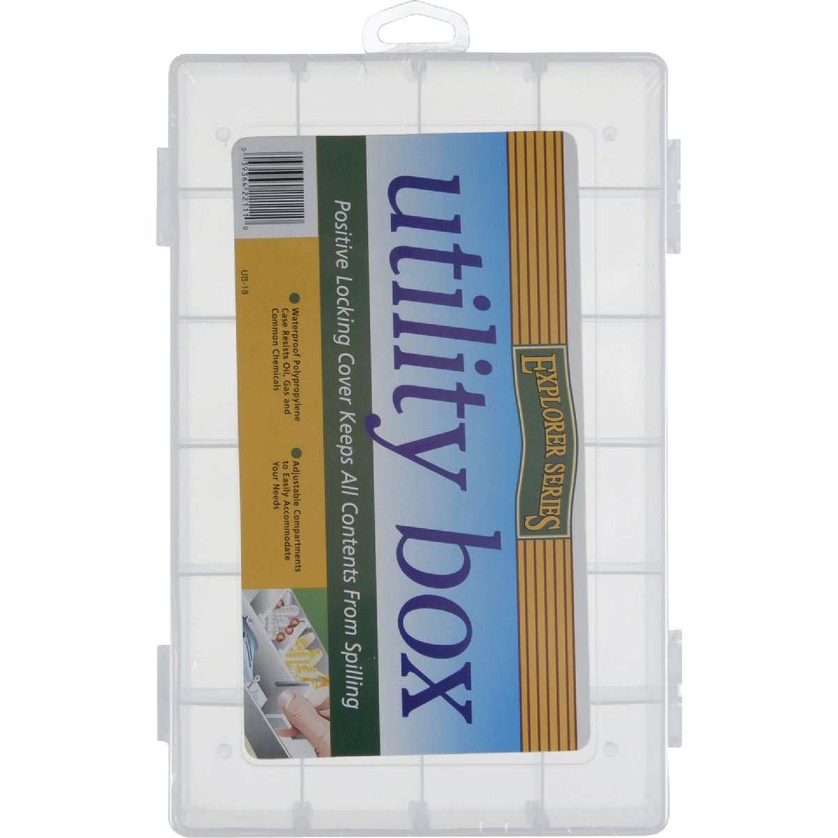 24 SECTION UTILITY BOX