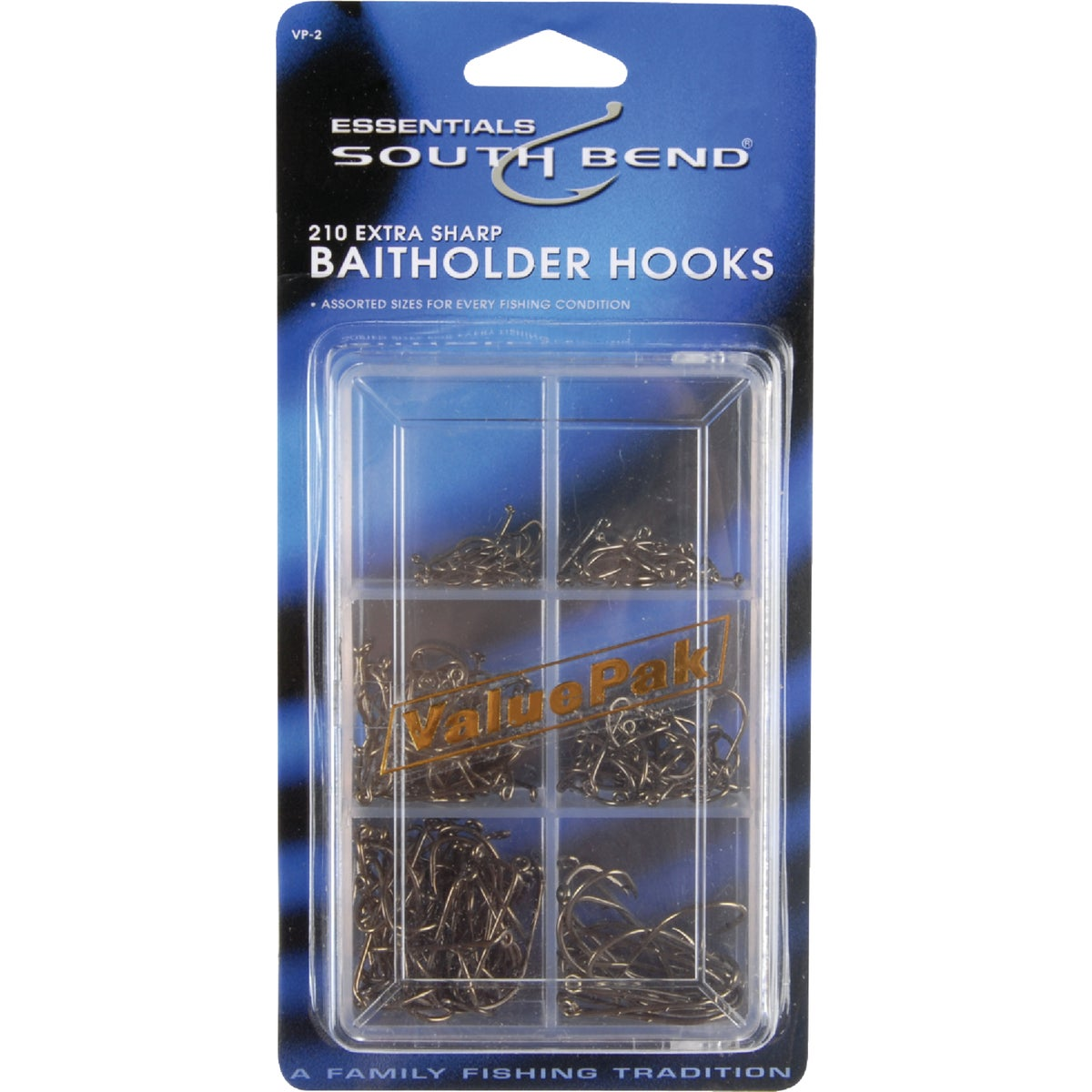VALUE PACK BAIT HOOKS - VP2 by South Bend Sptg Good
