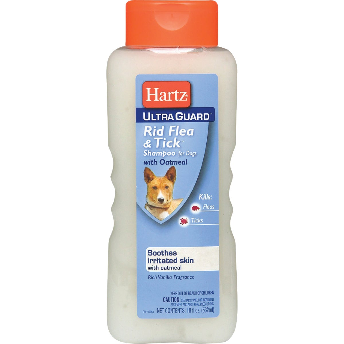 18OZ OATML FLEA SHAMPOO - 02305 by Hartz Mountain Corp