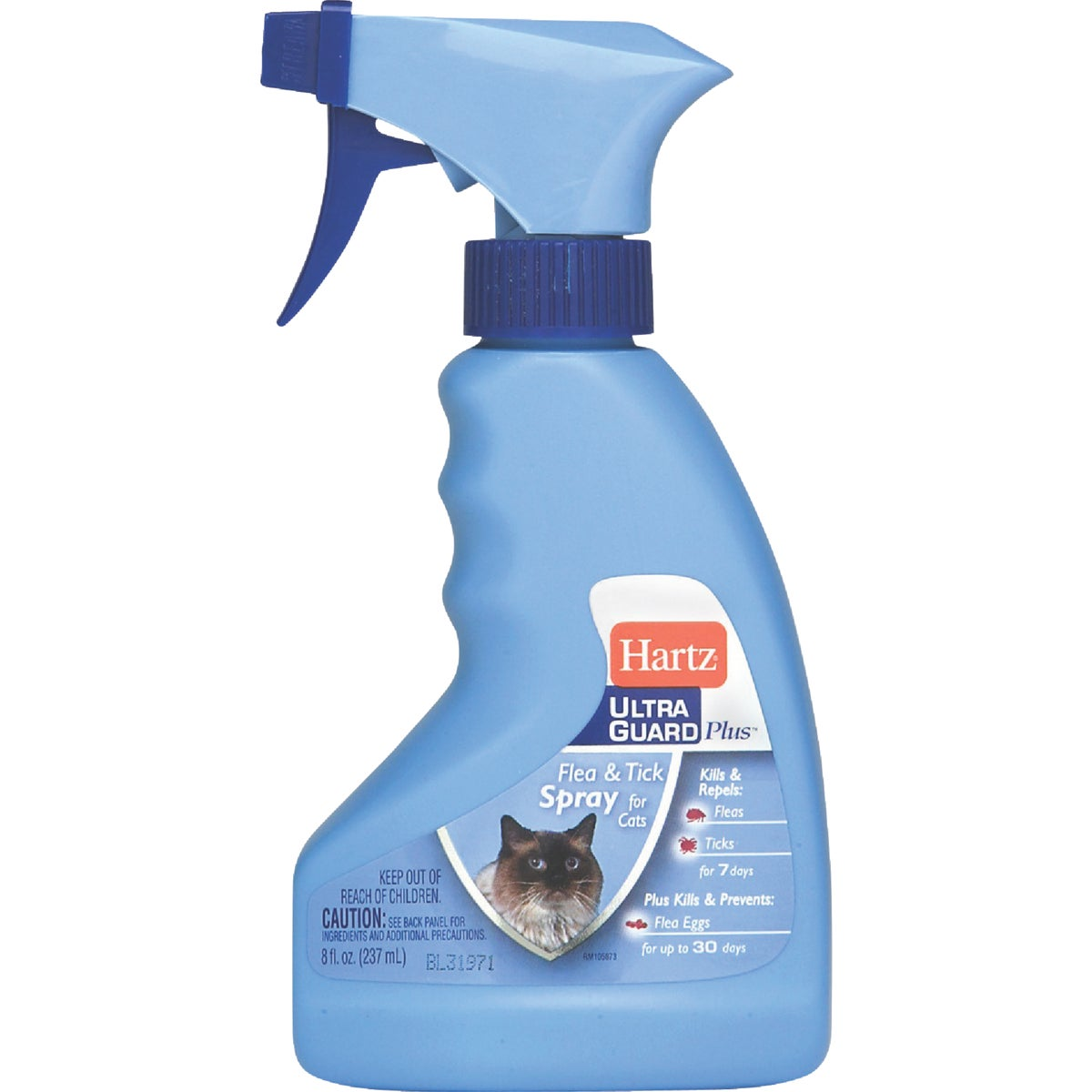 8OZ F&T CAT SPRAY - 01864 by Hartz Mountain Corp