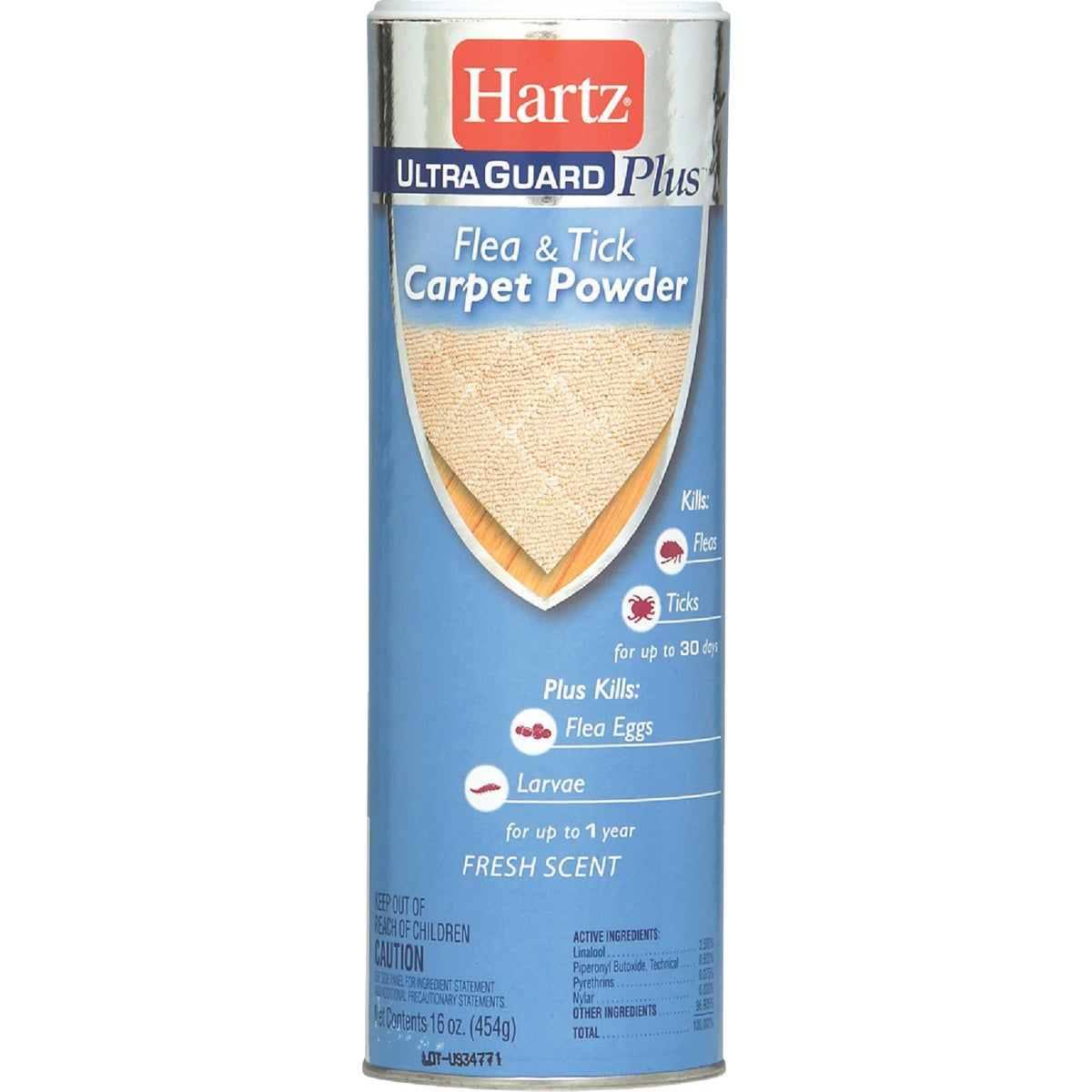 16OZ F&T CARPET POWDER - 02265 by Hartz Mountain Corp