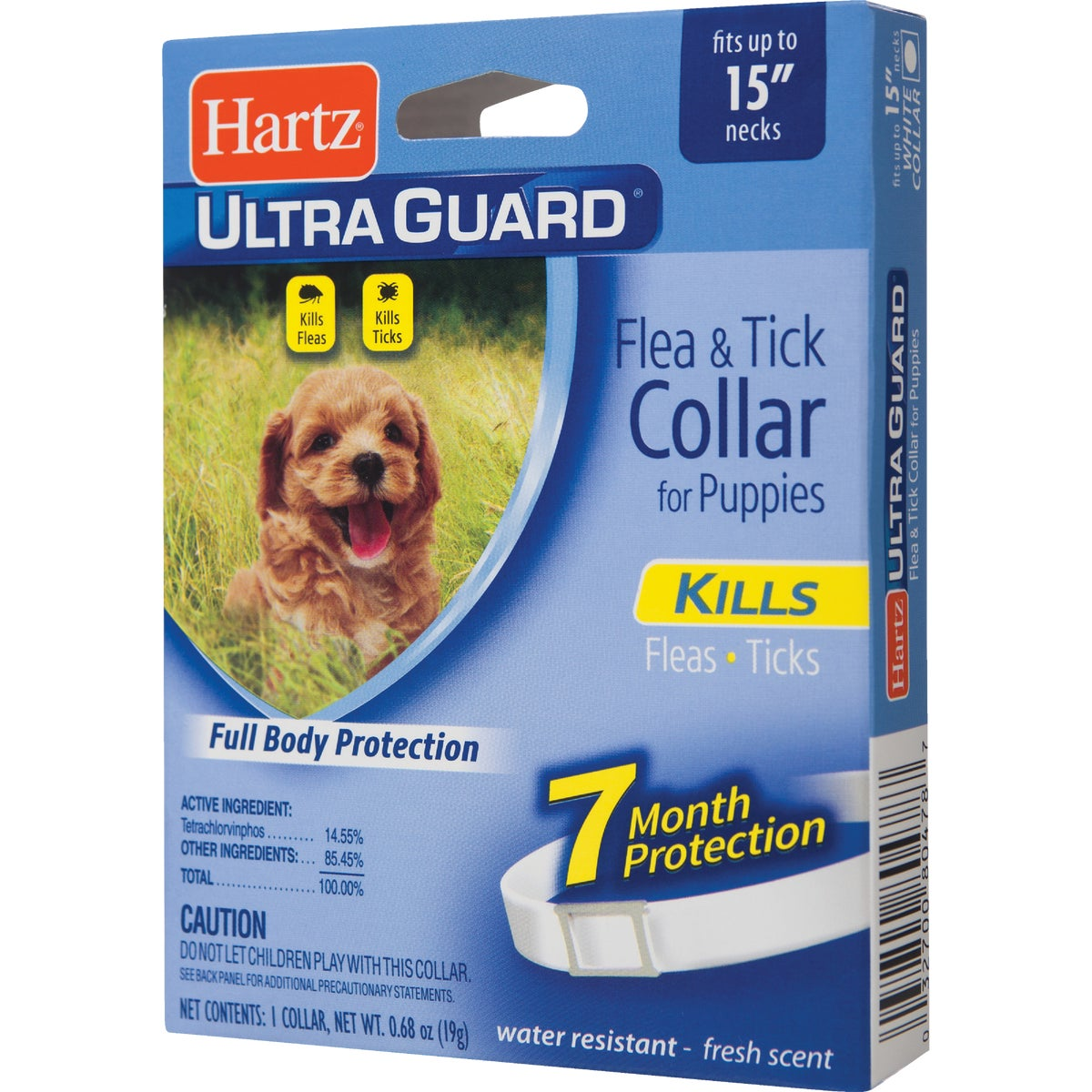 Hartz Mountain PUPPY F&T COLLAR 80478