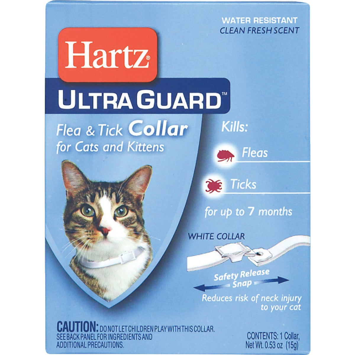 KITTEN & CAT F&T COLLAR - 80483 by Hartz Mountain Corp