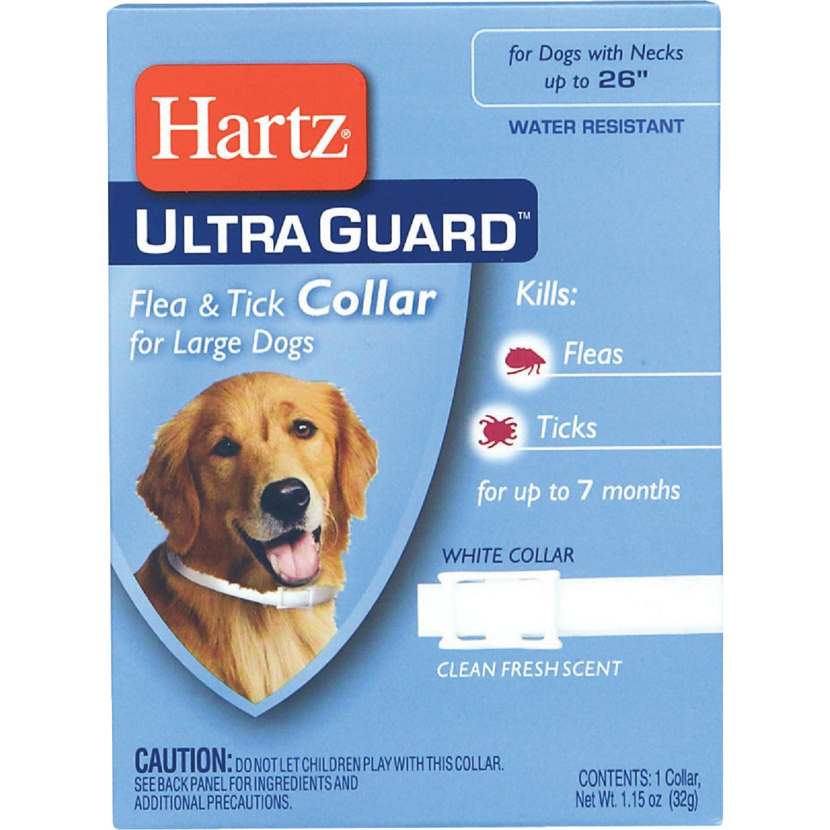 LG DOG F&T COLLAR - 81169 by Hartz Mountain Corp