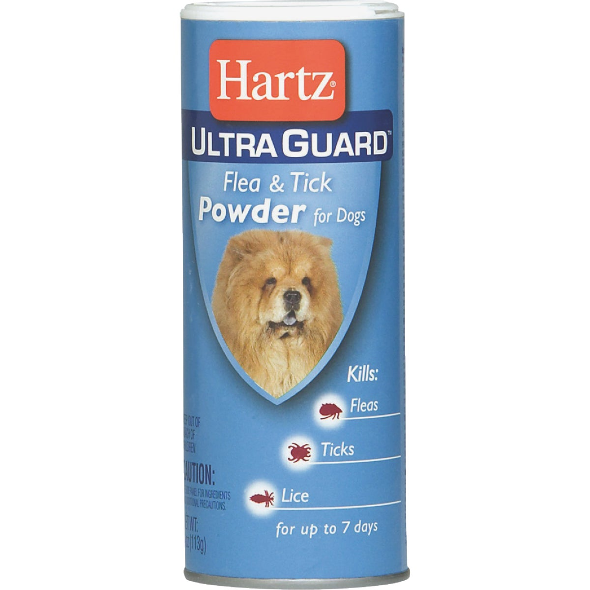 4OZ DOG F&T POWDER - 84137 by Hartz Mountain Corp