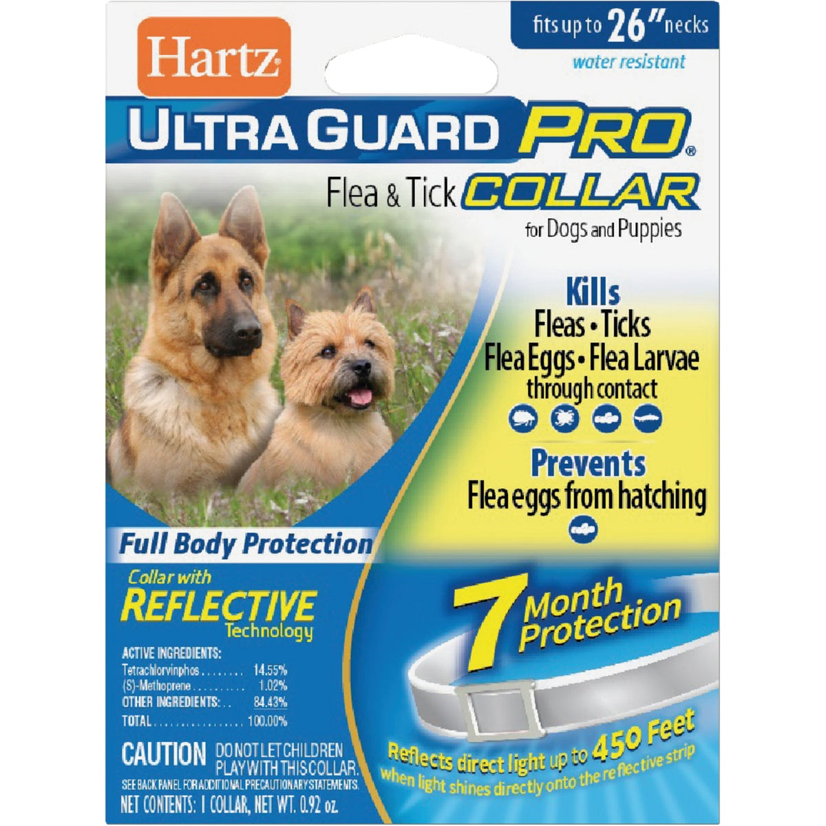 PUP&DOG RFLCT F&T COLLAR - 04183 by Hartz Mountain Corp
