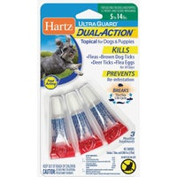 Hartz Mountain 4-15LB DOG F&T DROPS 97836
