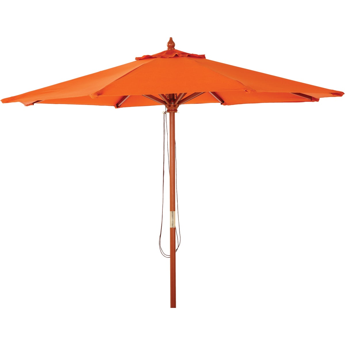 9' MARKET SPICE UMBRELLA - TJWU-003A-270-ORG by Do it Best