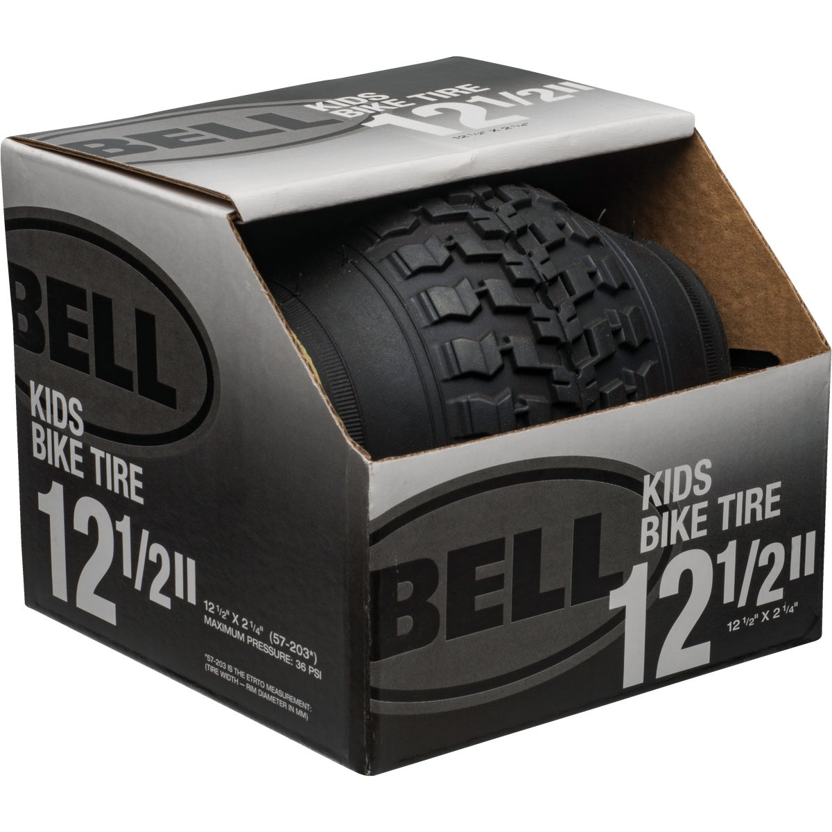 "12.5"" BLK BMX TIRE - 7020238 by Bell Sports"