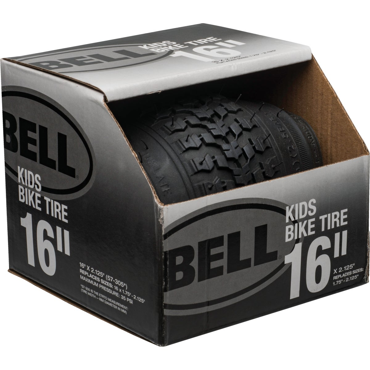 "16"" BLACK BMX TIRE - 7014653 by Bell Sports"