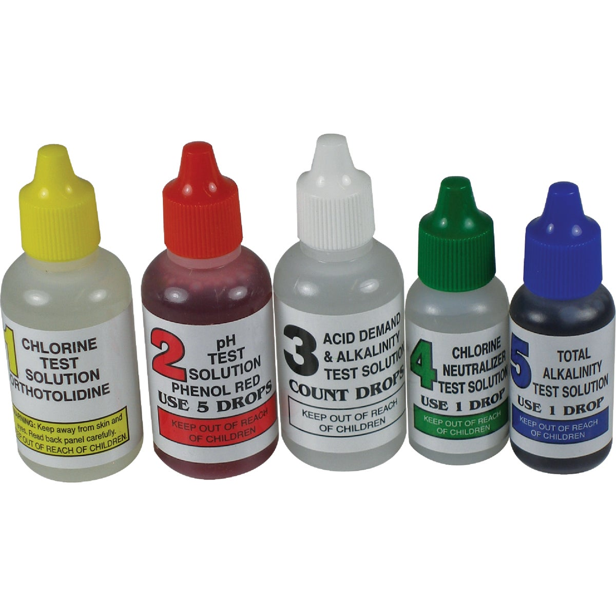 5-WAY REFILL TEST KIT - 00-330 by Jed Pool