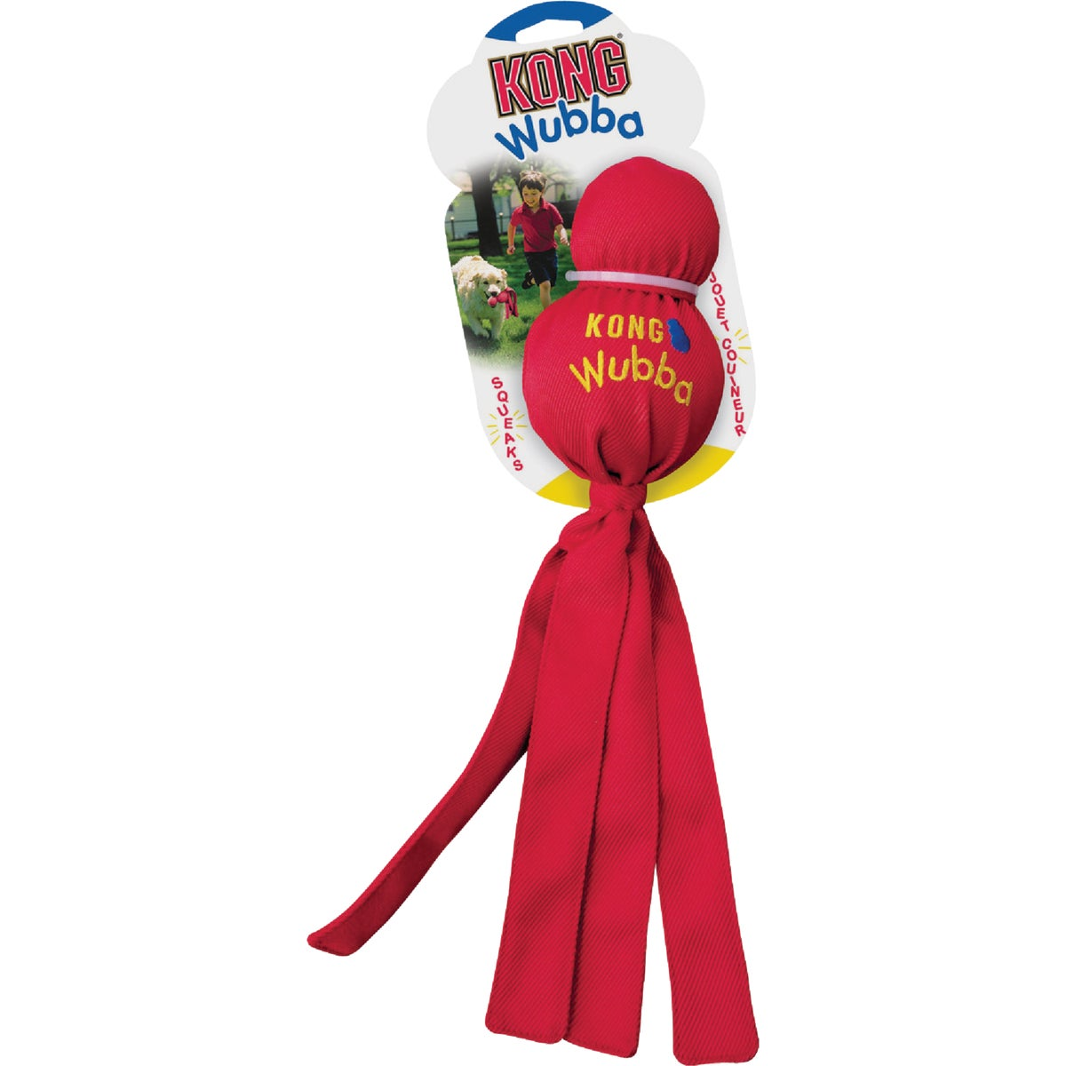 LRG WUBBA TUG DOG TOY - WB1 by Kong Company