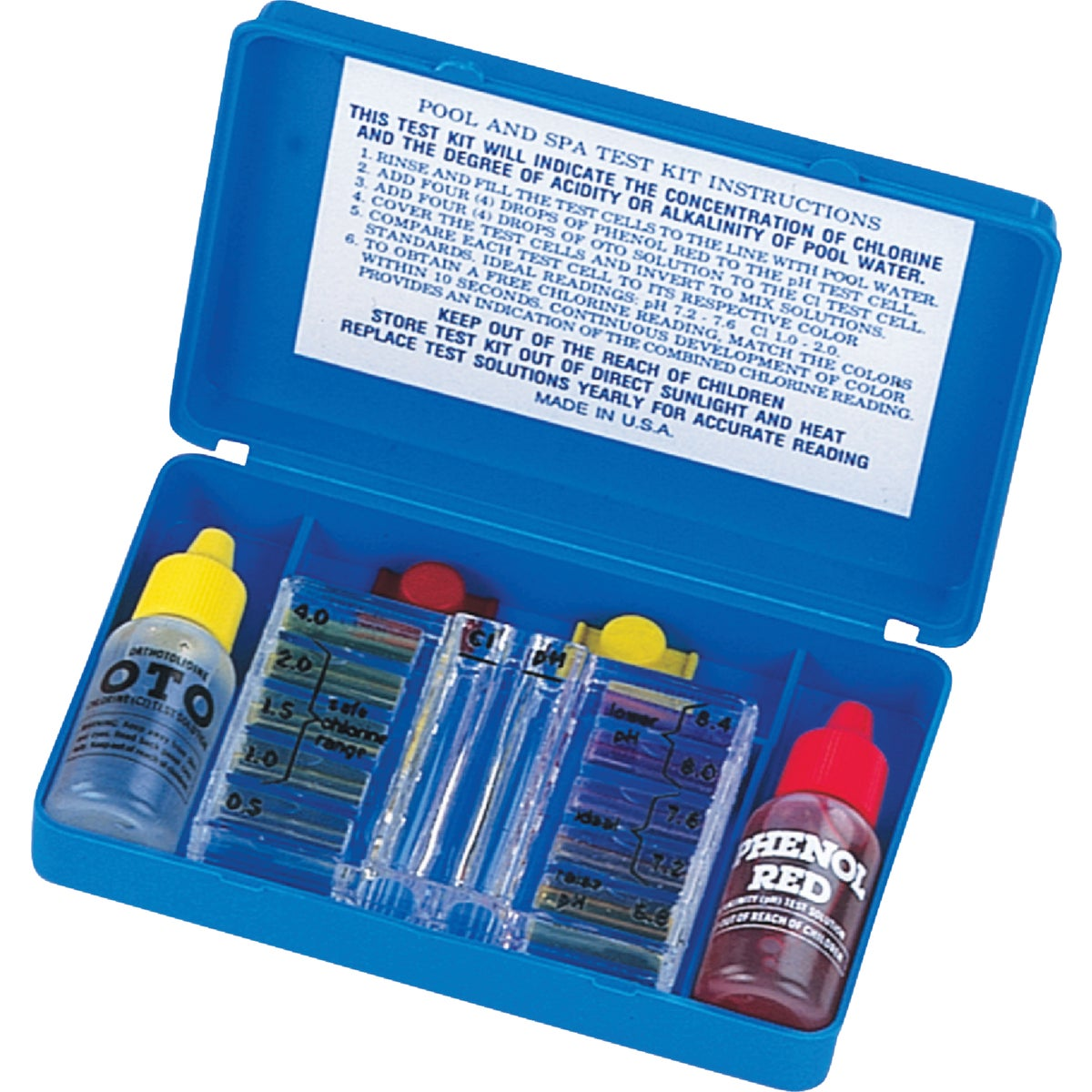 POOL SPA TEST KIT