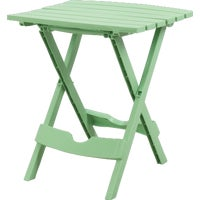 Adams Mfg./Patio Furn. SUMR GRN QUIK FOLD TABLE 8500-08-3731