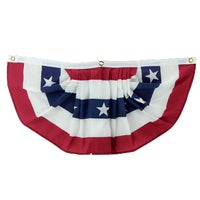 Valley Forge PLEATED MINI FAN FLAG PMF