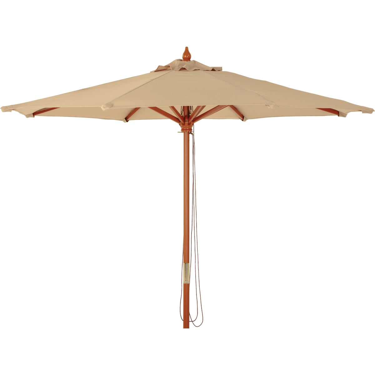 7.5' MARKET TAN UMBRELLA