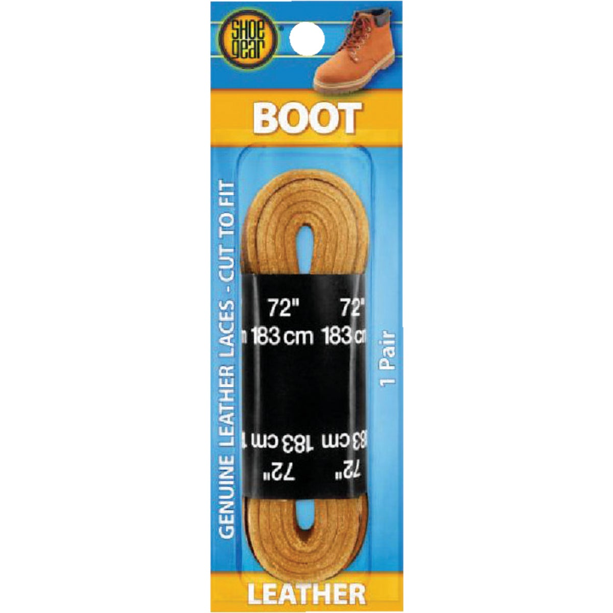 "72"" LEATHER BOOT LACES"