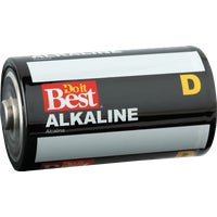 4Pk Dib D Alk Battery