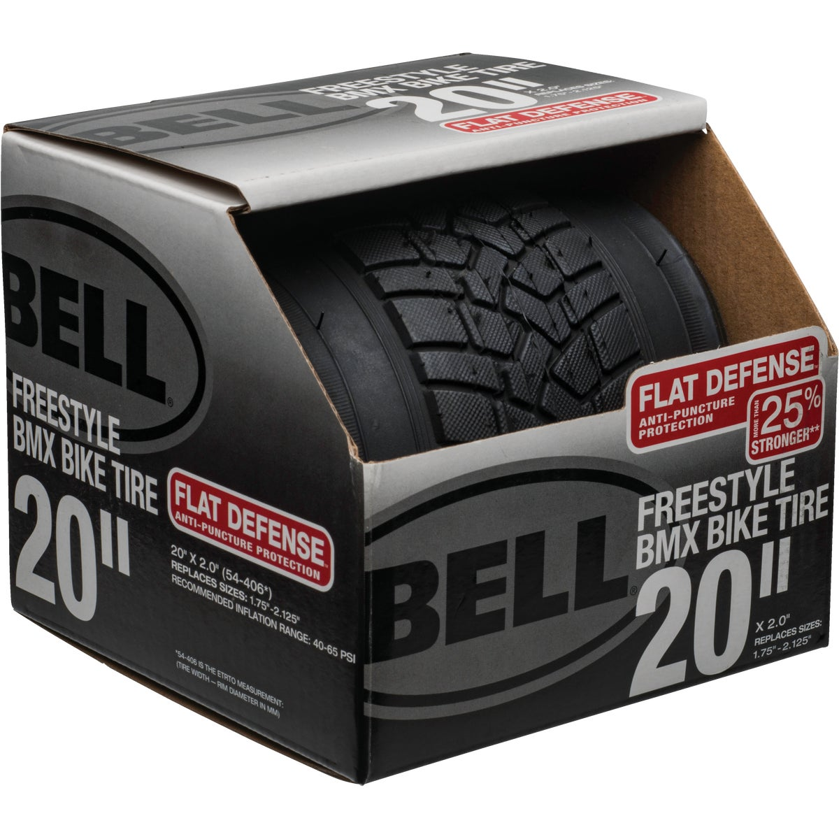 "20"" FREESTYLE BIKE TIRE - 7014698 by Bell Sports"