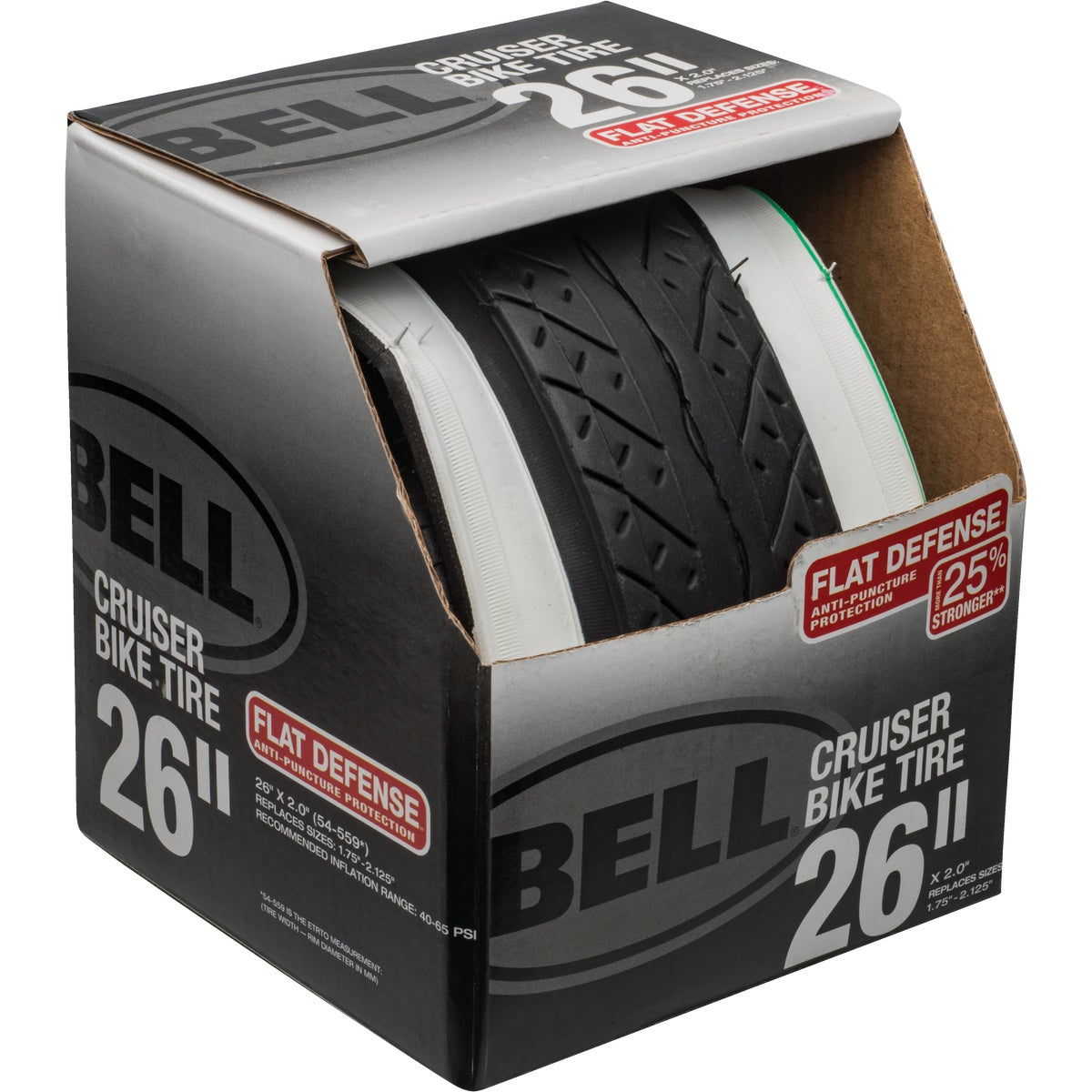 "26"" CRUISER TIRE - 7020165 by Bell Sports"