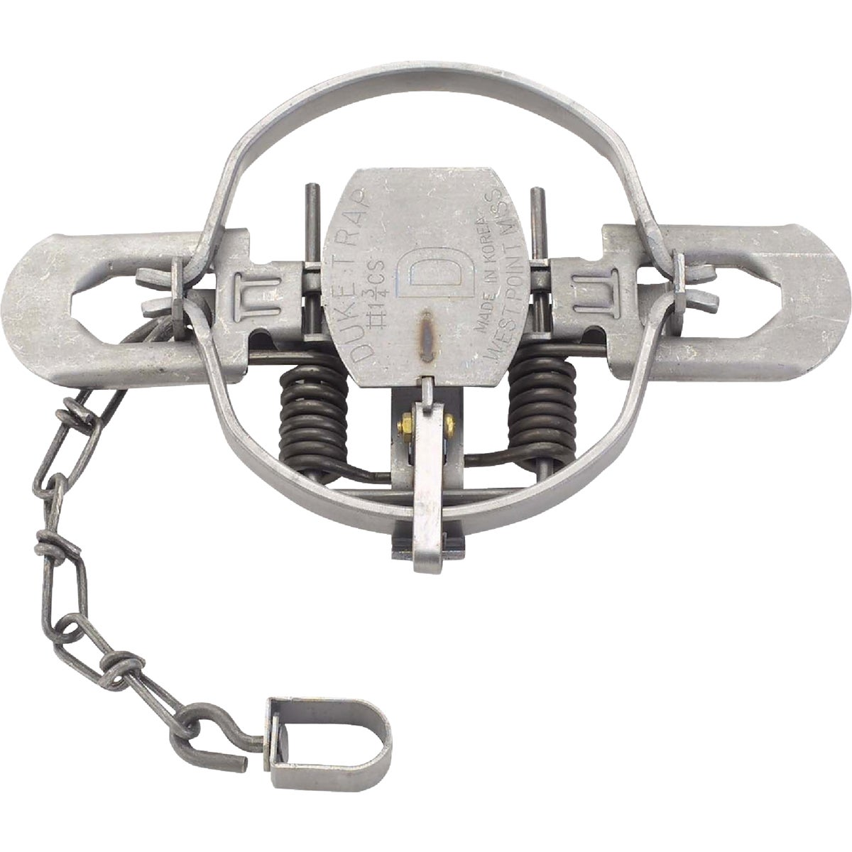 #1 3/4 COIL SPRING TRAP - 0475 by Duke Company