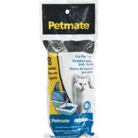 Petmate Doskocil 8PK CAT PAN LINERS 22966