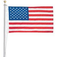 Valley Forge 20' ALUM FLAG POLE KIT AFP20F