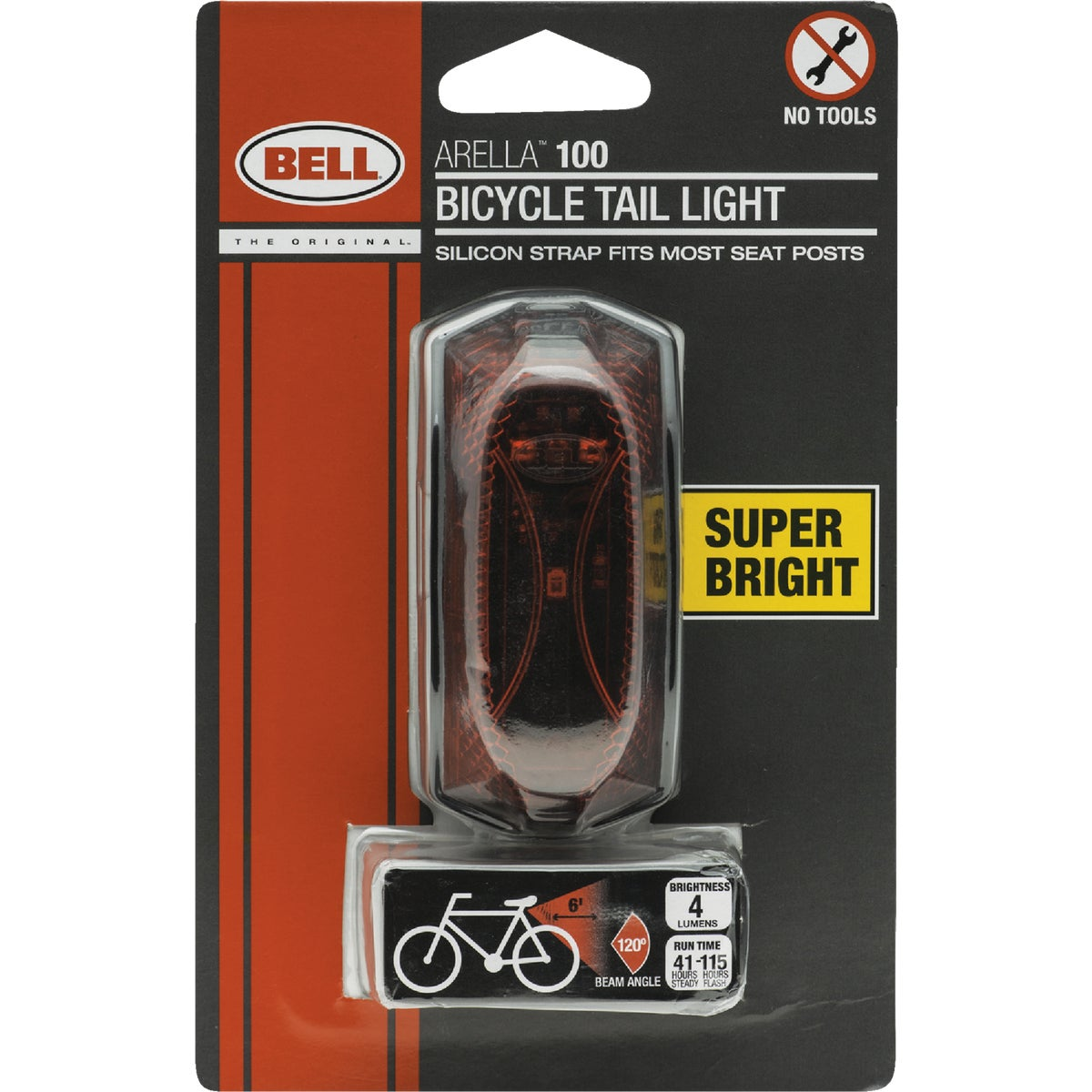 LED SAFETY FLASHER LIGHT - 7015563 by Bell Sports