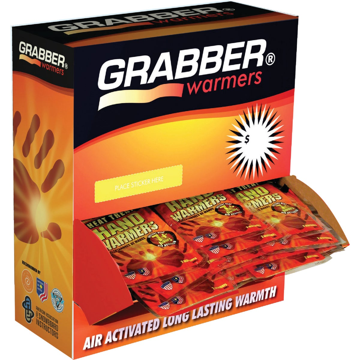 120 PAIR HAND WARMERS - HWES120 by Grabber Performance
