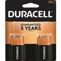 Duracell CopperTop 9V Alkaline Battery, 3961