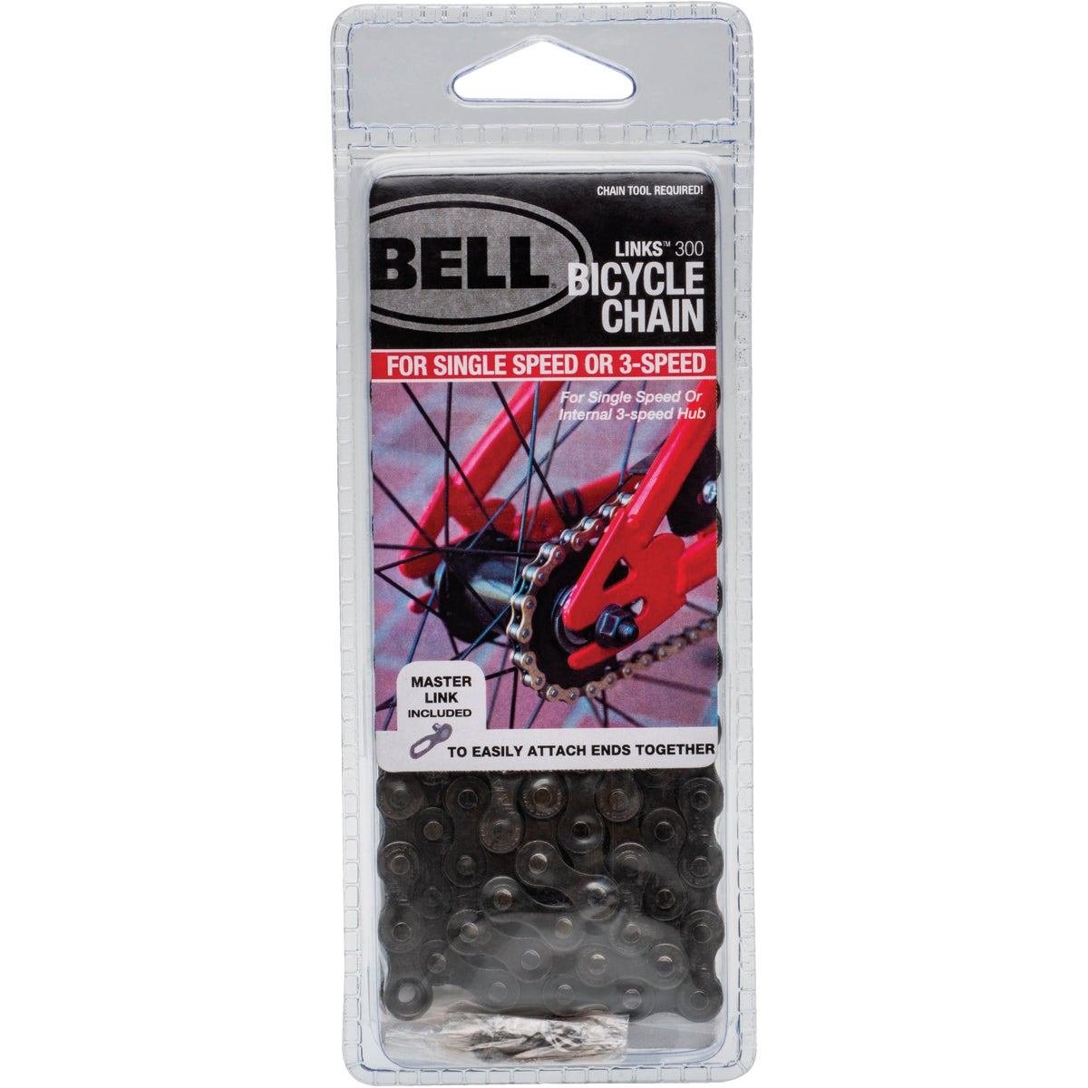 1/2X1/8 BIKE CHAIN - 7015885 by Bell Sports