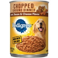 Mars Pedigree 13OZ BF/BAC/CHE DOG FOOD 1017