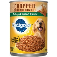 Mars Pedigree 13OZ TUR/BAC DOG FOOD 1108