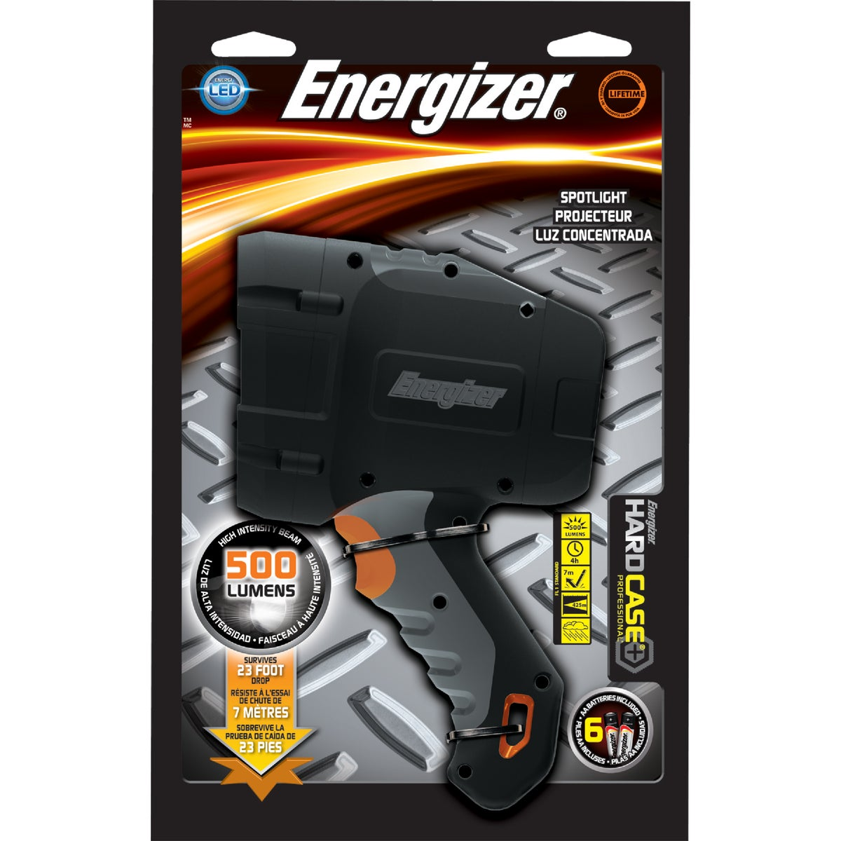 4C HARD CASE SPOTLIGHT - TUF4CPE by Energizer