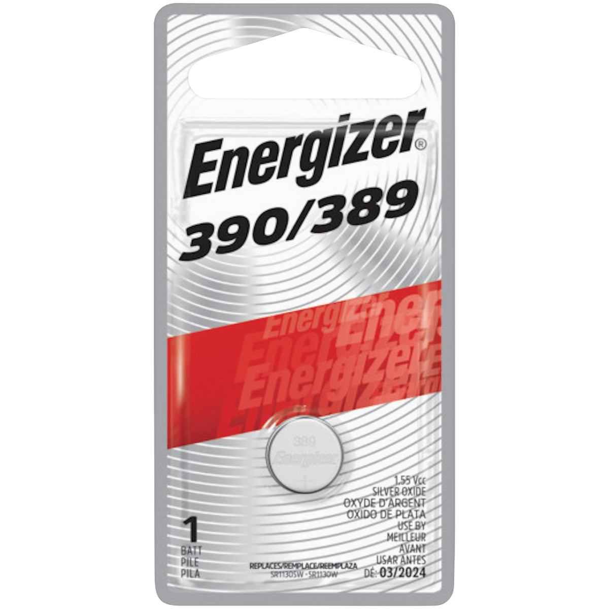 1.6V WATCH BATTERY - 389BPZ by Energizer