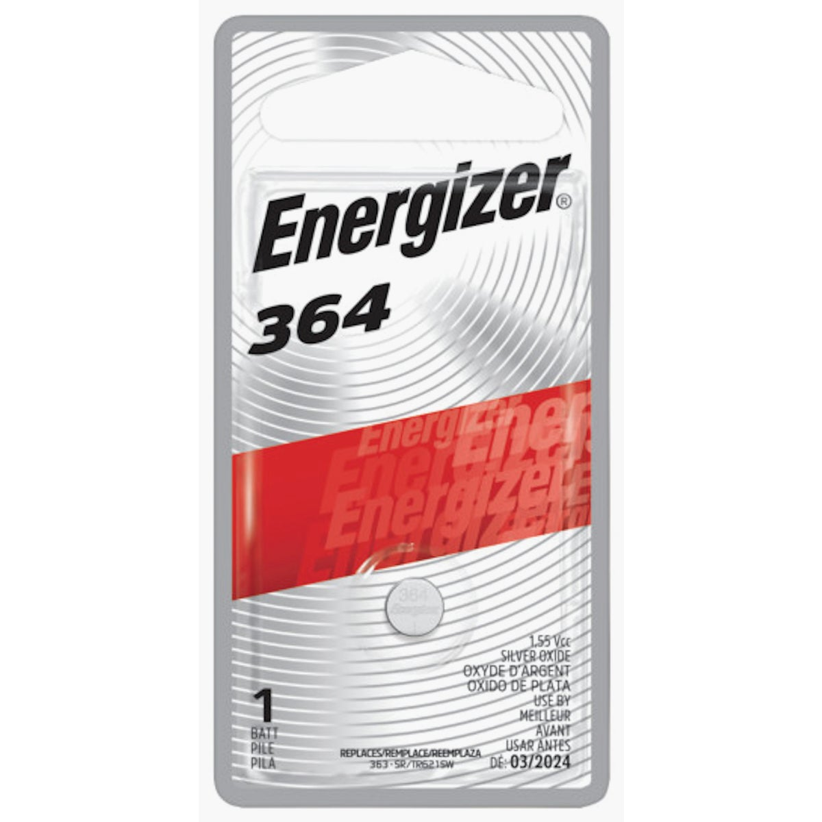 1.6V WATCH BATTERY - 364BPZ by Energizer