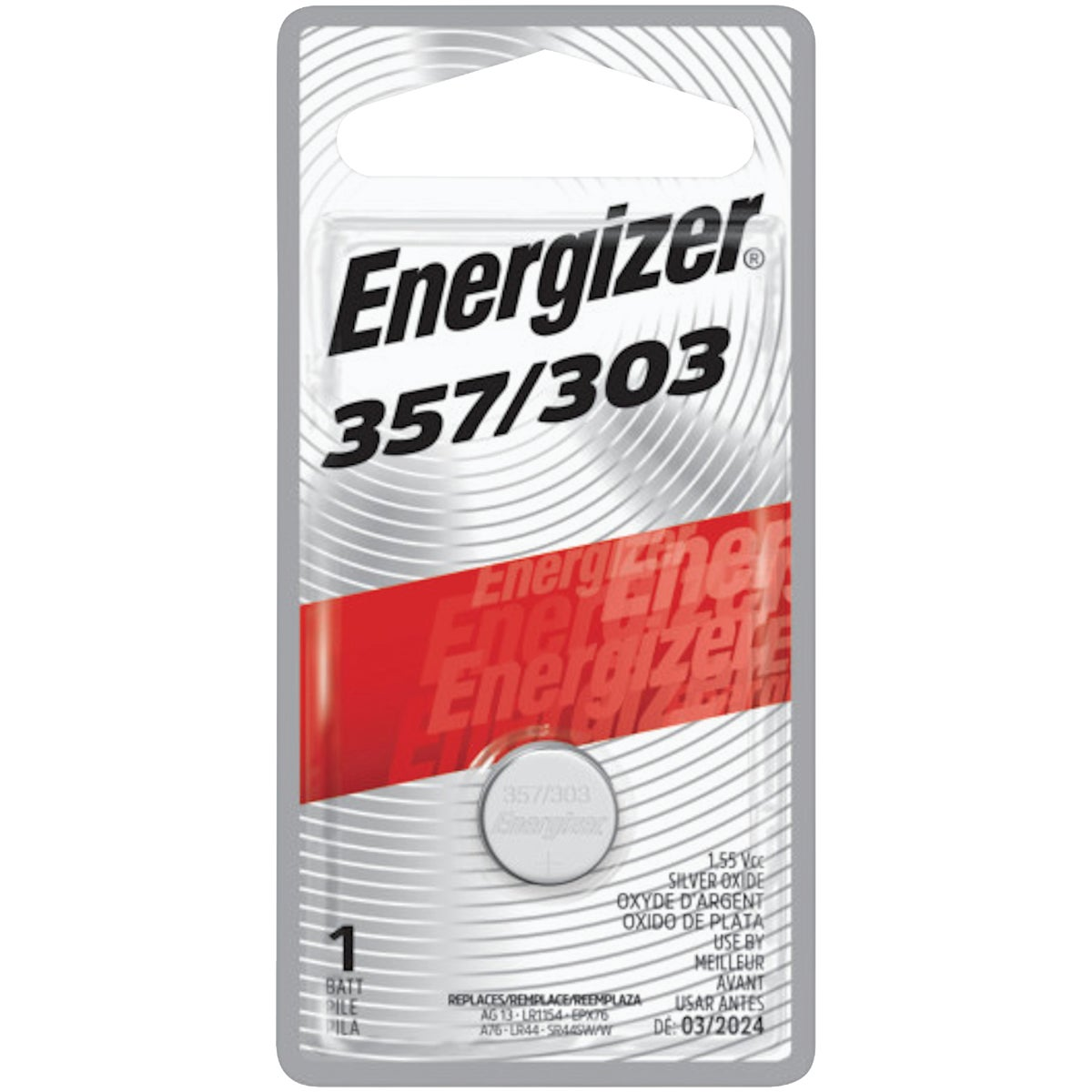 1.6V WATCH BATTERY - 357BPZ by Energizer
