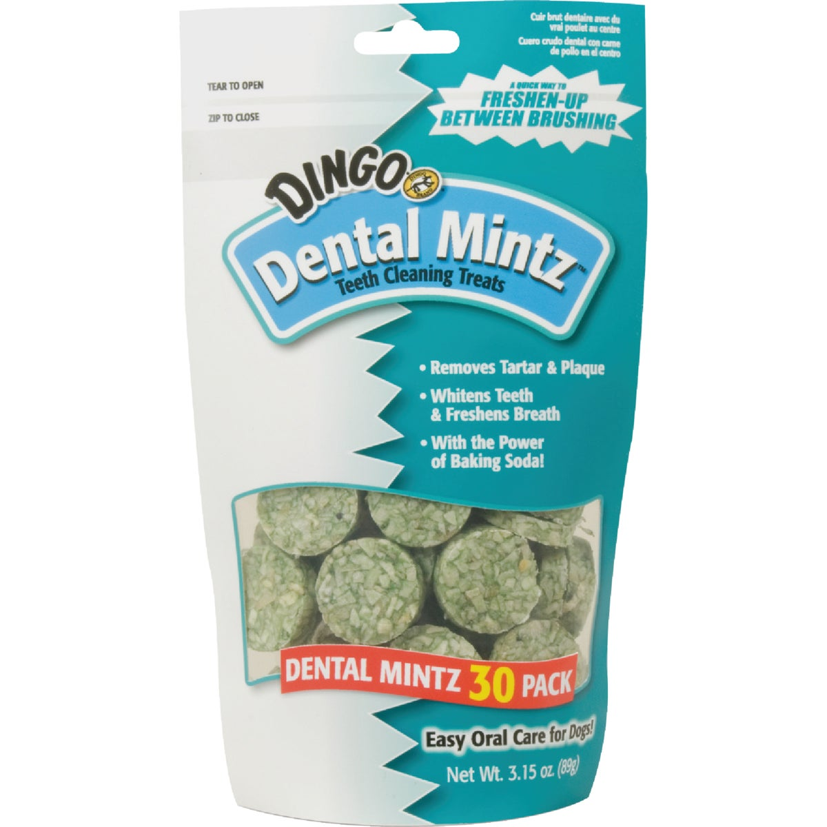 30PK DINGO DENTAL MINTZ - P-26014 by United Pet Group