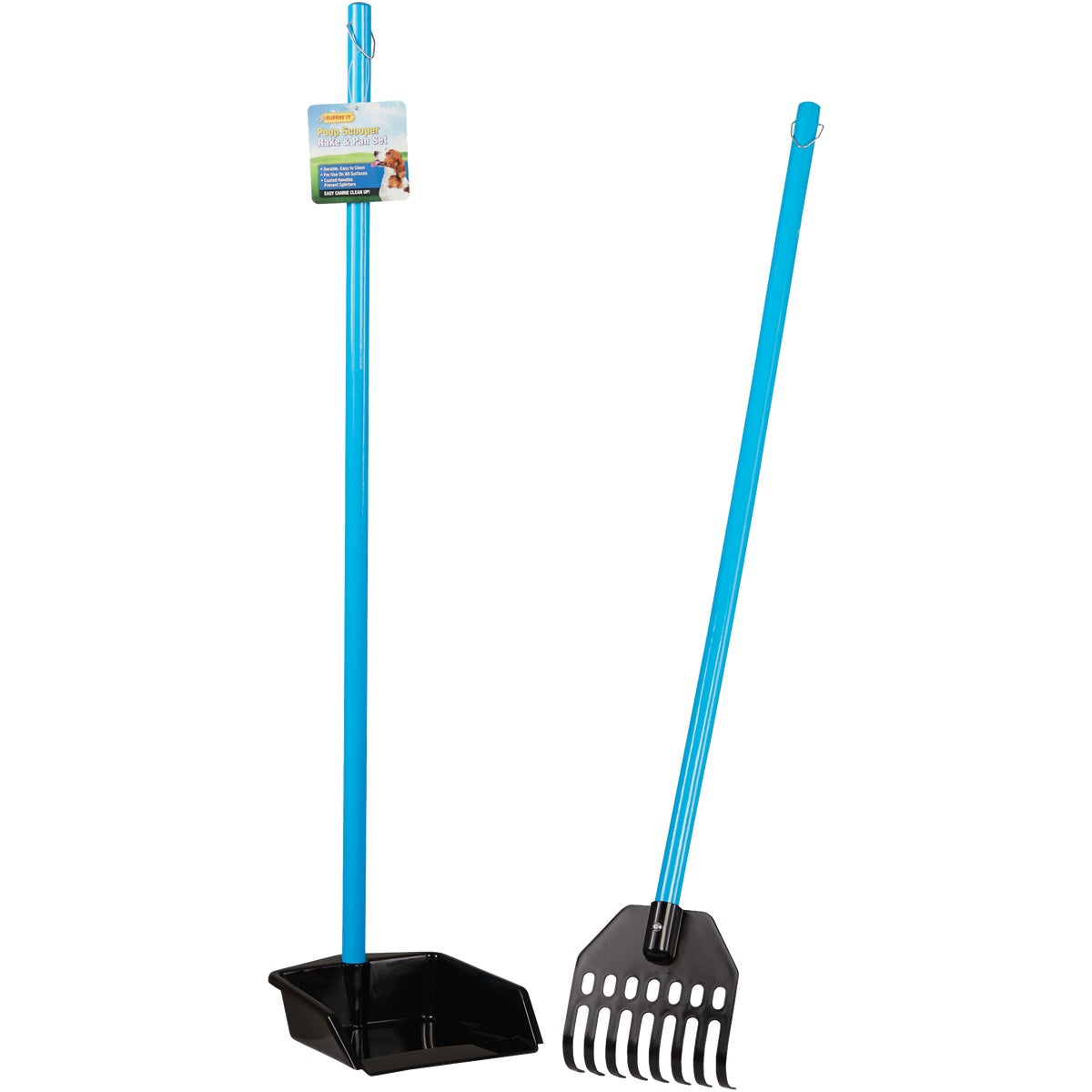 SMALL RAKE WITH IONPURE - SRK-916ANT by United Pet Group