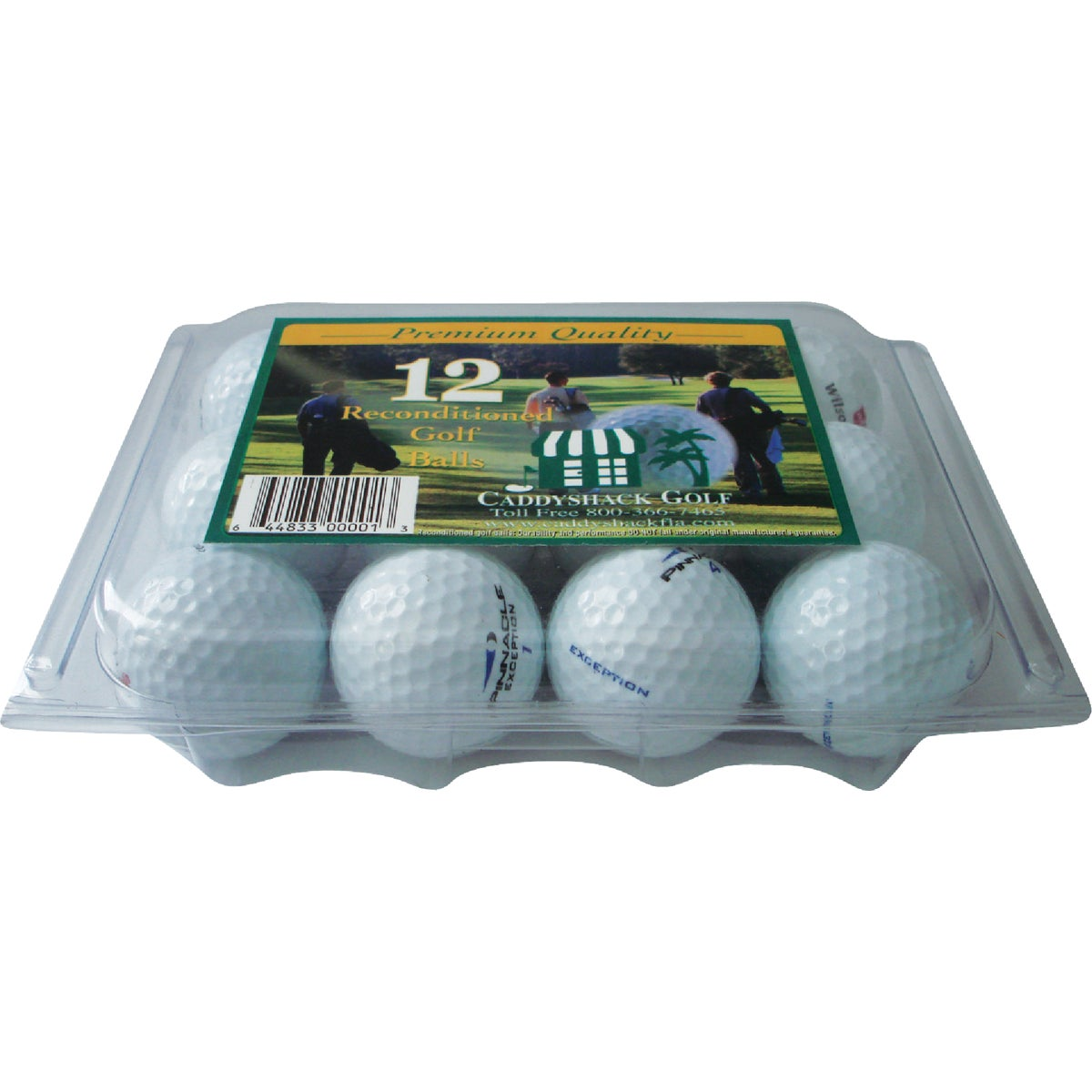 12PK RECOND GOLF BALLS - CAD12P by Caddyshack Golf